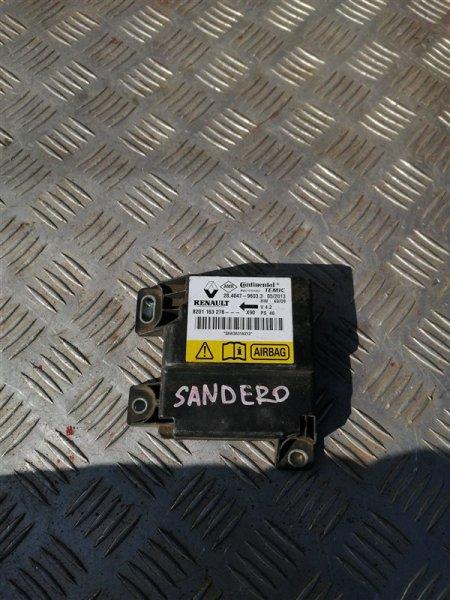 Блок управления аирбаг Renault Sandero BS12 K7M 2013 (б/у)