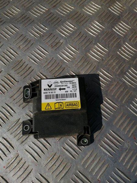 Блок управления аирбаг Renault Logan LS0G/LS12 K7M 2008 (б/у)