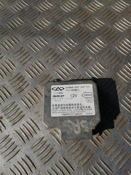 Блок управления аирбаг Chery Tiggo T11 SQR 481FC 2010 (б/у)