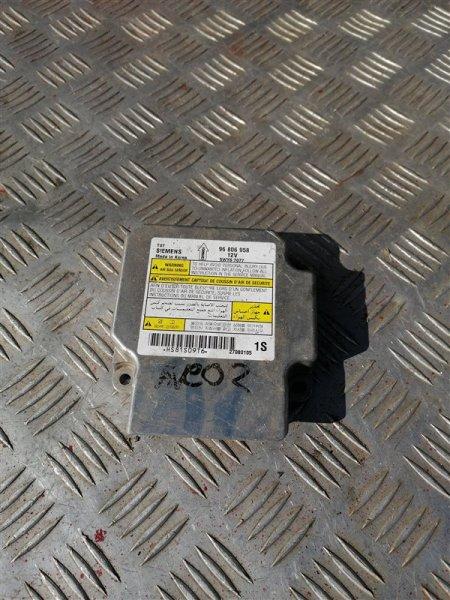 Блок управления аирбаг Chevrolet Aveo T250 B12D1 2008 (б/у)