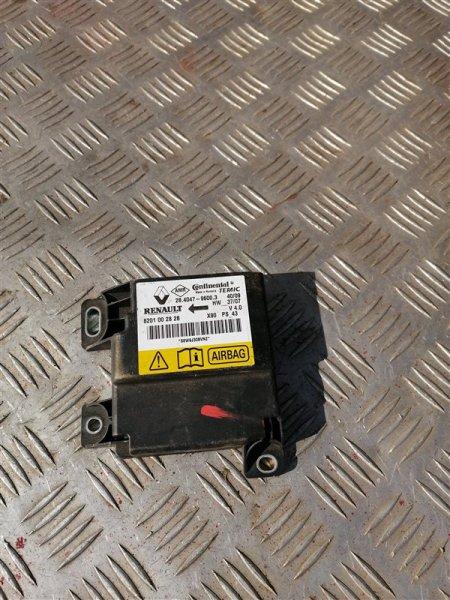 Блок управления аирбаг Renault Logan LS0G/LS12 K7J 2008 (б/у)