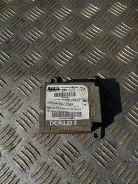 Блок управления аирбаг Fiat Doblo 223 350A1000 2011 (б/у)