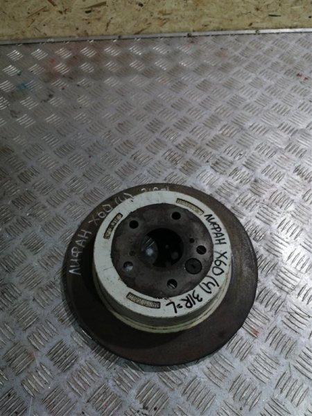 Тормозной диск Lifan X60 LFB479Q 2017 задний правый (б/у)