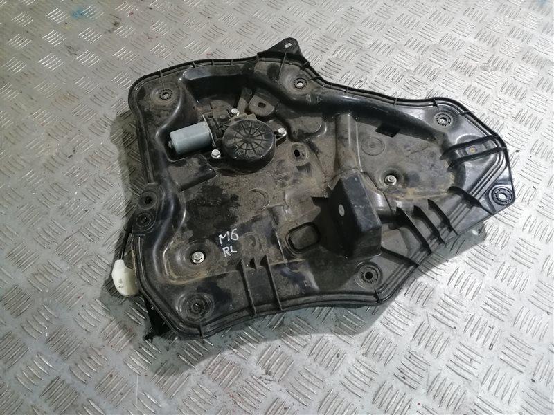 Стеклоподъемник Mazda 6 GJ PE-VPS 2014 задний левый (б/у)