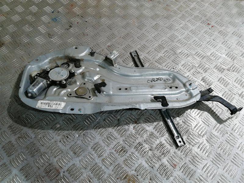 Стеклоподъемник Kia Cerato 2 TD G4FC 2011 задний левый (б/у)