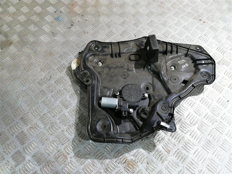 Стеклоподъемник Mazda 6 GJ PE-VPS 2014 задний правый (б/у)