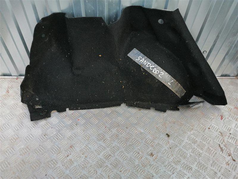 Обшивка багажника Renault Sandero BS12 K7J 2011 задняя левая (б/у)