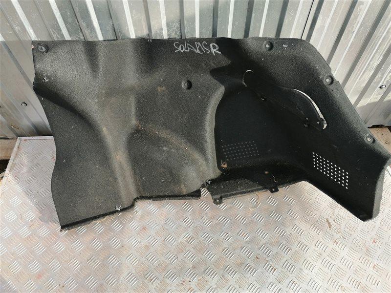 Обшивка багажника Hyundai Solaris RB G4FC 2013 задняя правая (б/у)