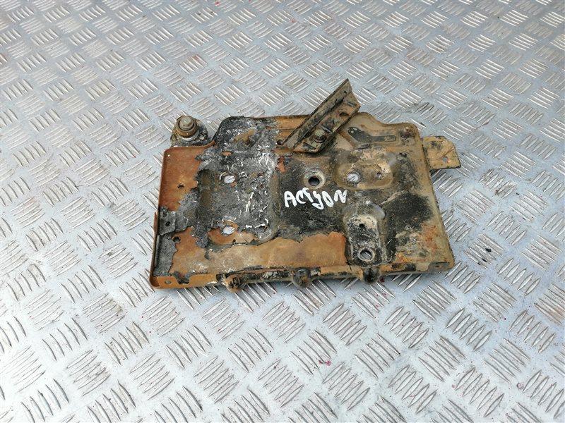 Крепление аккумулятора Ssangyong Actyon New CK D20T 2012 (б/у)