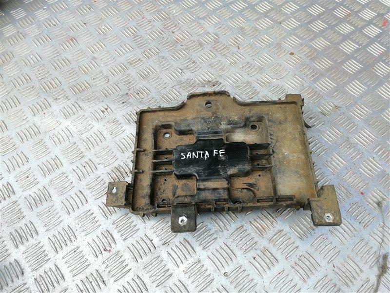 Крепление аккумулятора Hyundai Santa Fe CM G4KE 2010 (б/у)