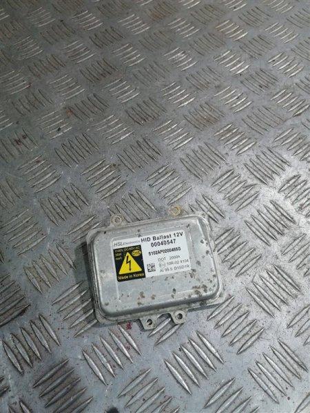 Блок ксенона Hyundai Santa Fe CM G4KE 2010 левый (б/у)
