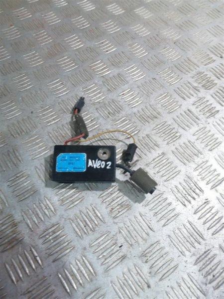 Электронный блок Chevrolet Aveo T250 B12D1 2008 (б/у)