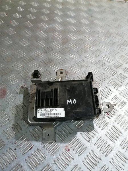 Электронный блок Mazda 6 GJ PE-VPS 2014 (б/у)
