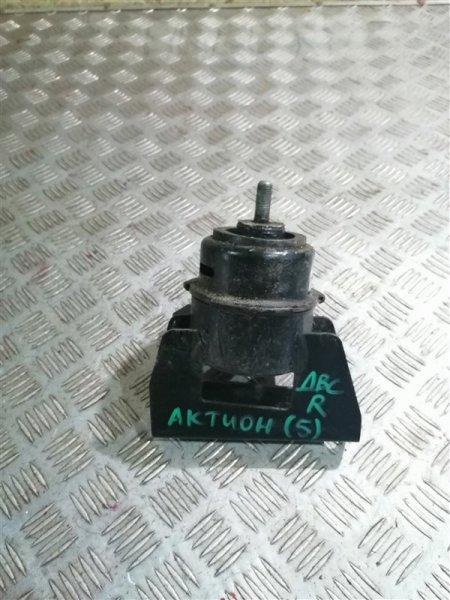Опора двигателя Ssangyong Actyon New CK D20T 2012 передняя правая (б/у)