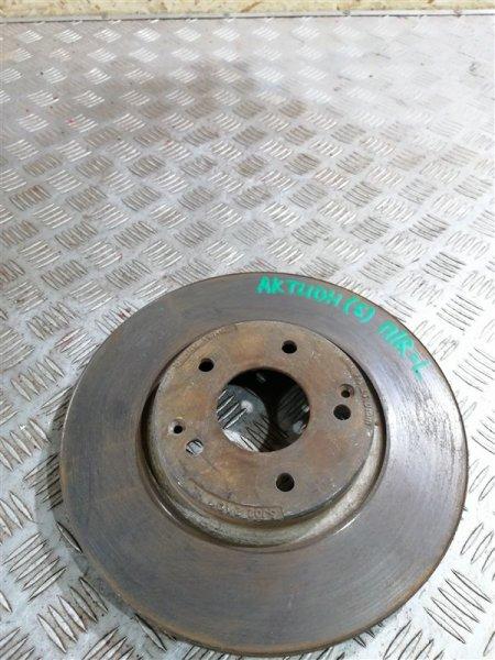 Тормозной диск Ssangyong Actyon New CK D20T 2012 передний правый (б/у)