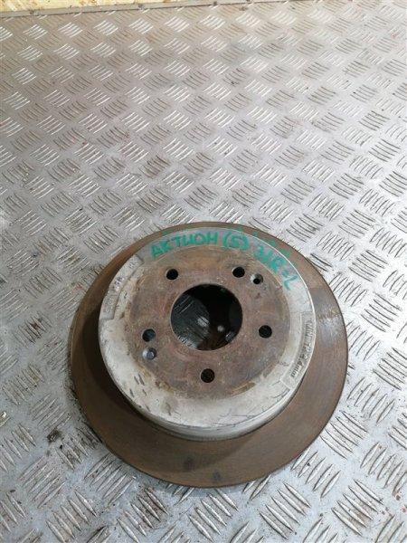 Тормозной диск Ssangyong Actyon New CK D20T 2012 задний правый (б/у)