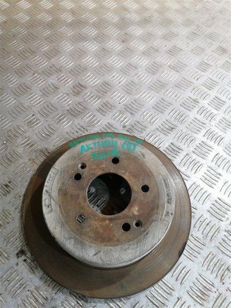 Тормозной диск Ssangyong Actyon New CK D20T 2012 задний левый (б/у)