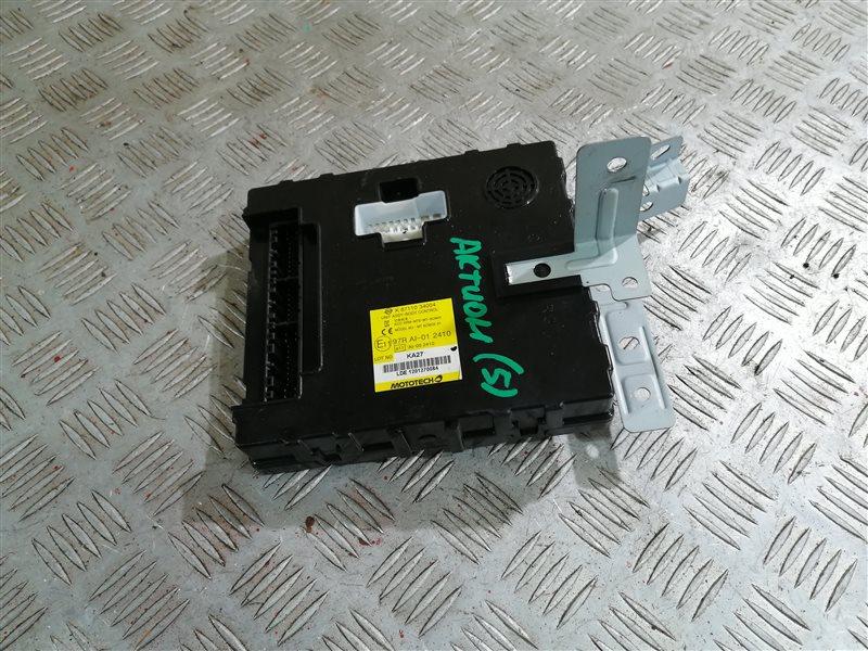 Блок комфорта Ssangyong Actyon New CK D20T 2012 (б/у)