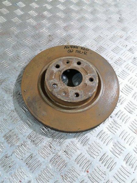 Тормозной диск Lifan X60 LFB479Q 2014 передний левый (б/у)