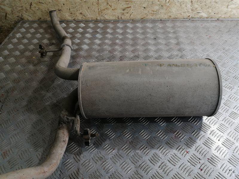 Задняя часть глушителя Fiat Albea 350A1000 2011 (б/у)