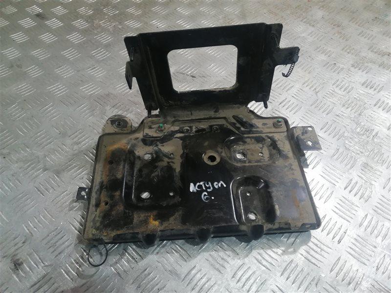 Крепление аккумулятора Ssangyong Actyon New CK G20 2014 (б/у)