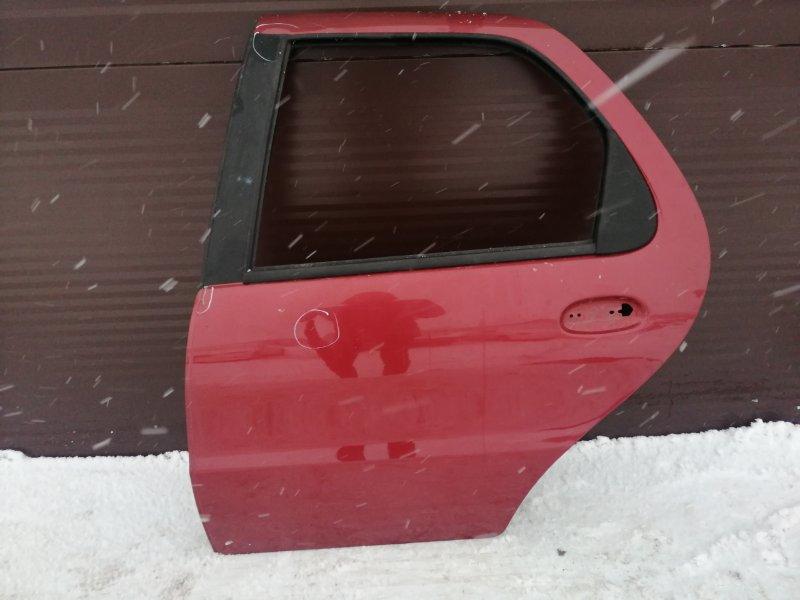 Дверь Fiat Albea 350A1000 2008 задняя левая (б/у)