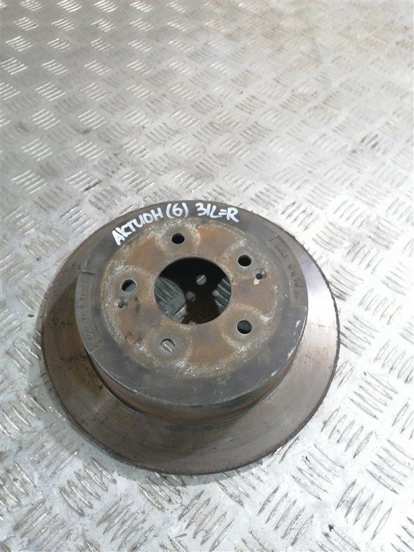 Тормозной диск Ssangyong Actyon New CK G20 2014 задний левый (б/у)