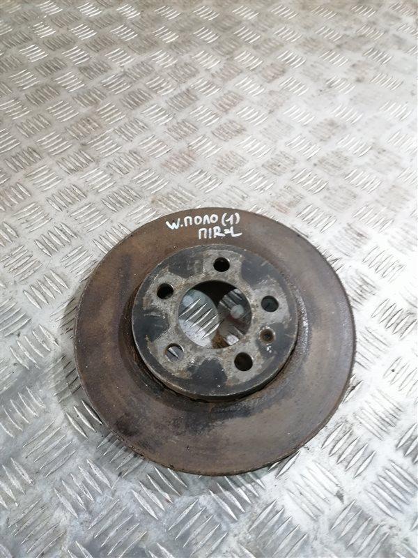 Тормозной диск Volkswagen Polo 612 CFNA 2013 передний правый (б/у)