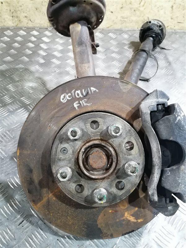 Тормозной диск Skoda Octavia 5E CZD 2017 передний правый (б/у)