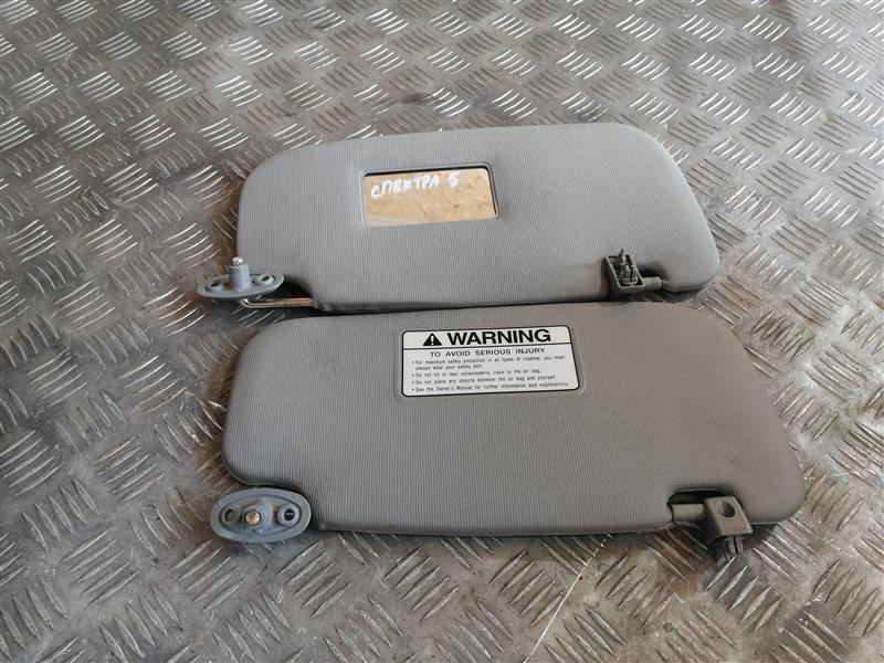Козырек солнцезащитный Kia Spectra LD S6D 2008 (б/у)