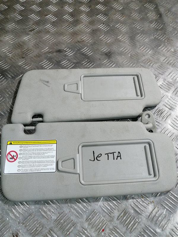 Козырек солнцезащитный Volkswagen Jetta 6 162 CLR 2012 (б/у)
