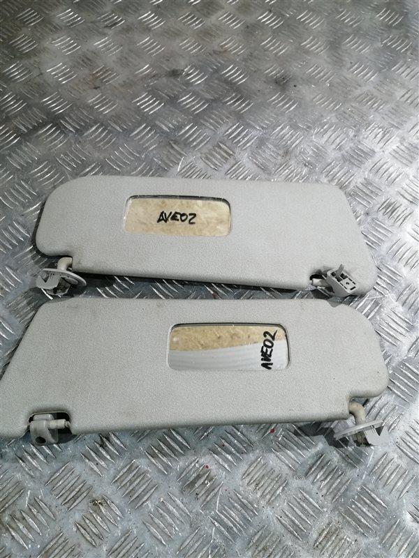 Козырек солнцезащитный Chevrolet Aveo T250 B12D1 2008 (б/у)