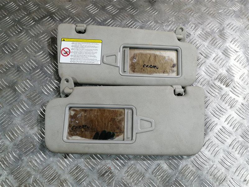 Козырек солнцезащитный Kia Cerato 2 TD G4FC 2011 (б/у)