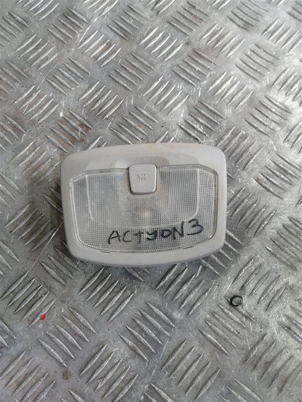 Плафон Ssangyong Actyon New CK D20T 2011 задний (б/у)