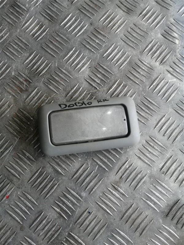 Плафон Fiat Doblo 223 350A1000 2011 задний (б/у)