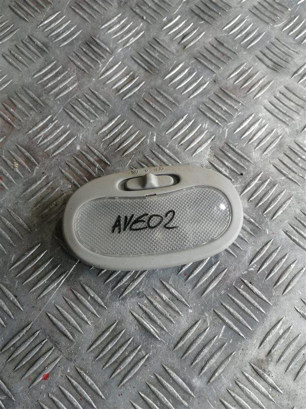 Плафон Chevrolet Aveo T250 B12D1 2008 (б/у)