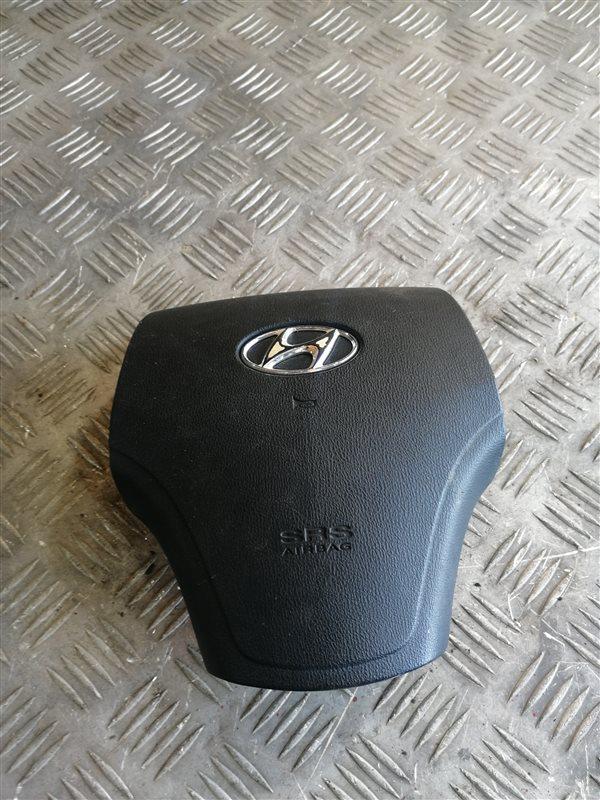 Подушка безопасности в рулевое колесо Hyundai Elantra HD G4FC 2008 левая (б/у)