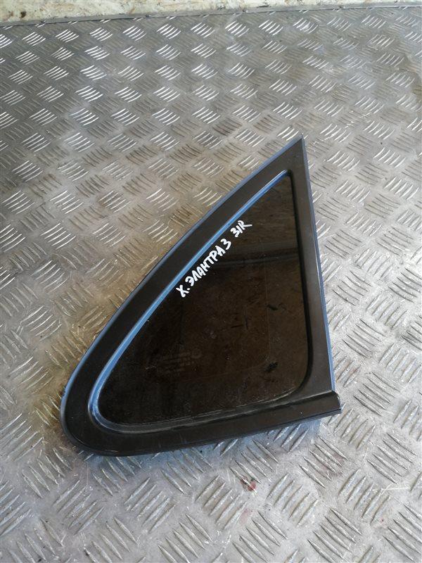 Стекло глухое Hyundai Elantra HD G4FC 2008 заднее правое (б/у)