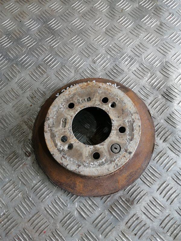 Тормозной диск Hyundai Elantra HD G4FC 2008 задний правый (б/у)