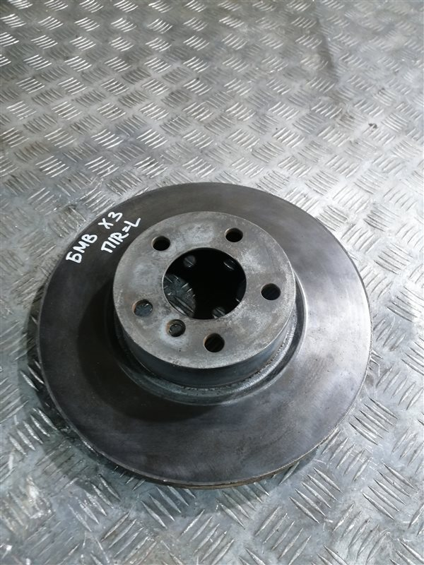 Тормозной диск Bmw X3 F25 N47D20C 2013 передний правый (б/у)