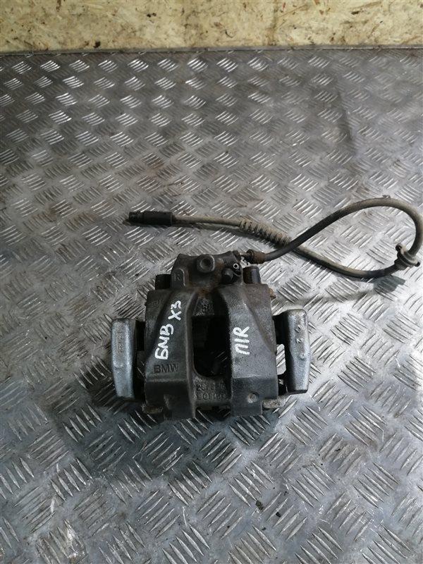 Суппорт Bmw X3 F25 N47D20C 2013 передний правый (б/у)