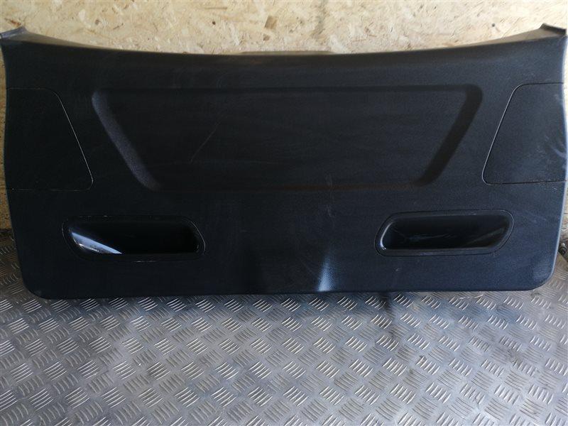 Обшивка крышки багажника Bmw X3 F25 N47D20C 2013 задняя нижняя (б/у)