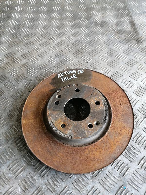 Тормозной диск Ssangyong Actyon New CK G20T-001 2014 передний левый (б/у)