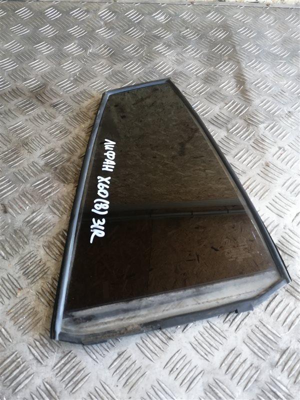 Стекло глухое Lifan X60 LFB479Q 2013 заднее правое (б/у)