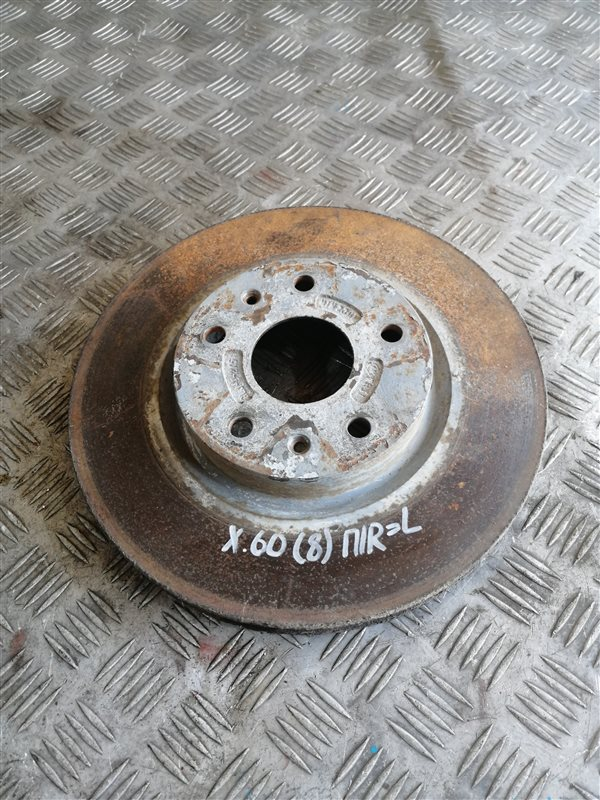 Тормозной диск Lifan X60 LFB479Q 2013 передний правый (б/у)