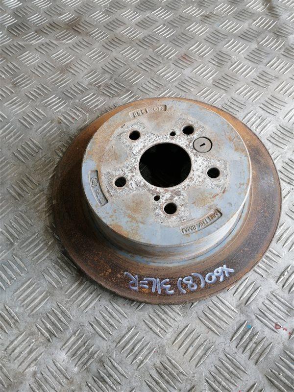 Тормозной диск Lifan X60 LFB479Q 2013 задний левый (б/у)