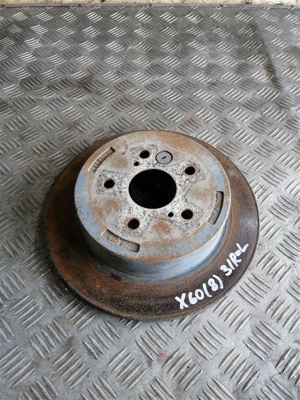 Тормозной диск Lifan X60 LFB479Q 2013 задний правый (б/у)