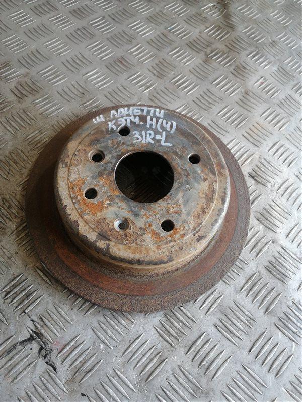 Тормозной диск Chevrolet Lacetti J200 F14D3 2008 задний правый (б/у)