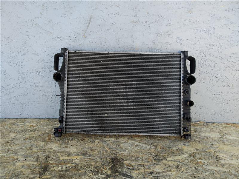 Радиатор основной Mercedes E-class 2003 W211 OM646 A2115001302 контрактная