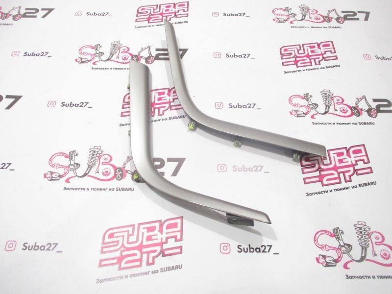 Накладки центральной консоли Subaru Legacy BLE EZ30 2005 (б/у)